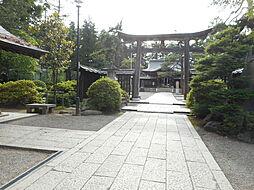 上杉神社まで4...