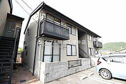 岡山県備前市伊部丁目なしの賃貸アパートの外観