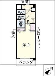 デュークK[1階]の間取り