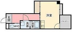 TRTマンション[3階]の間取り