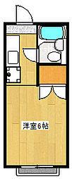 ハイムアペル[2階]の間取り