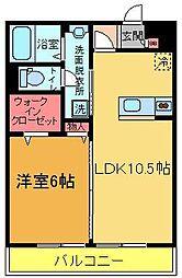 D−room汐止[302号室]の間取り