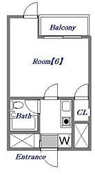 スマートホームズ北池袋[1階]の間取り