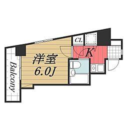 ライオンズマンション千葉東[7階]の間取り