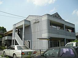 滋賀県愛知郡愛荘町島川の賃貸アパートの外観