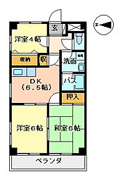 E・FLAT[402号室号室]の間取り