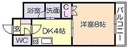 サクセス75[2階]の間取り