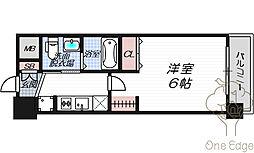 エステムプラザ梅田・中崎町IIIツインマークスサウスレジデンス[8階]の間取り