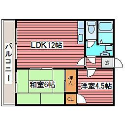 メゾン31[4階]の間取り