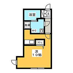 Branche桜山[2階]の間取り