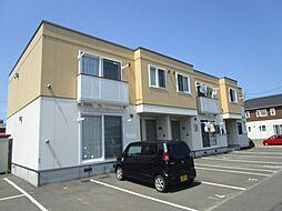 北海道札幌市東区伏古十四条5丁目の賃貸アパートの外観