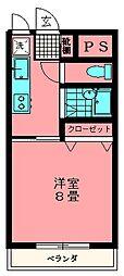 富士ハイツ[207号室]の間取り