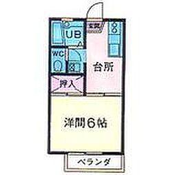 サンハイツ浅岡[104号室]の外観