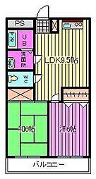 ビュープラザ斎藤I[306号室]の間取り