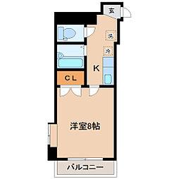 アイショウプラザ北五番丁[2階]の間取り