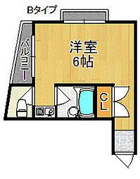 第1あさひビル[4階]の間取り