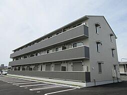 滋賀県野洲市冨波乙の賃貸アパートの外観