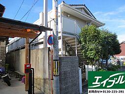 滋賀県大津市三井寺町の賃貸アパートの外観