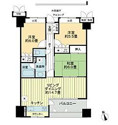 サーパス吉野本町[202号室]の間取り