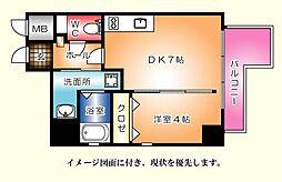 KATAYAMA BLDG  25[204号室]の間取り