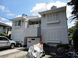 東京都武蔵野市境3丁目の賃貸アパートの外観