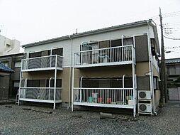 埼玉県草加市旭町3丁目の賃貸アパートの外観