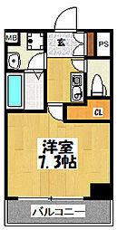 プラディオ徳庵セレニテ.[206号室]の間取り