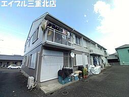 三重県桑名市高塚町6丁目の賃貸アパートの外観