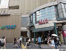 恵比寿駅(現地まで640m)