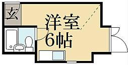 セゾン衣笠[3階]の間取り