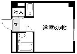 セ・モア京都[306号室]の間取り