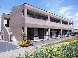 愛知県一宮市時之島字下垂の賃貸アパートの外観