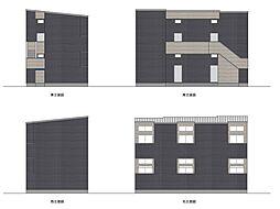 新築 沖HOUSE ・初期費用約8万円・[201号室号室]の外観