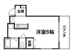 武興門ビル[3階]の間取り