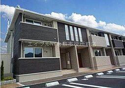 岡山県倉敷市玉島黒崎新町丁目なしの賃貸アパートの外観
