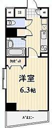 神奈川県横浜市南区高砂町1丁目の賃貸マンションの間取り