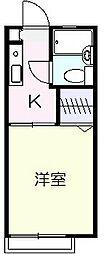 アネックスYAMAMURA(アネックスヤマムラ)[2階]の間取り
