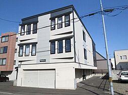 北海道札幌市北区北二十八条西9丁目の賃貸アパートの外観