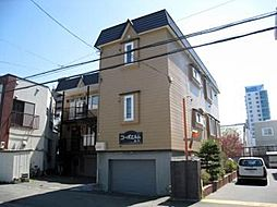北海道札幌市東区北十一条東6丁目の賃貸アパートの外観