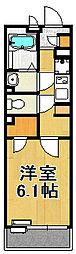 レオネクストジオイド[3階]の間取り