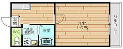 マンション シャトレ[1階]の間取り