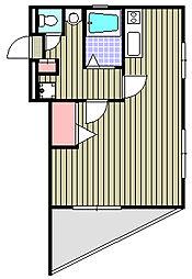 フジムラパレス[4階]の間取り