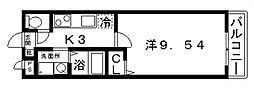 アムール松谷II[105号室号室]の間取り