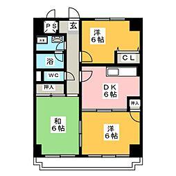 田島ビル[3階]の間取り