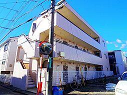 埼玉県新座市野火止6丁目の賃貸アパートの外観
