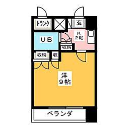 ラ・レジダンス・ド・仙台[2階]の間取り
