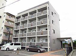 広島県東広島市西条中央4丁目の賃貸マンションの外観