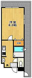 CHAYATOWN21[2階]の間取り