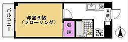 第6泉マンション[108号室]の間取り