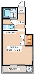 ストークハイツ永田[1階]の間取り